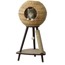 "44"" Sphere Scratch Post Cat Tree"