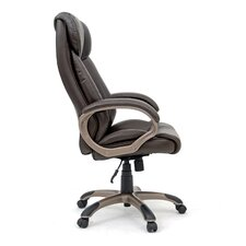 Gruga Deluxe High-Back Leather Executive Chair