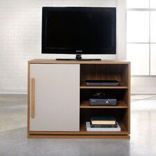 Soft Modern Walnut TV Stand