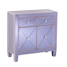 Milla Colored Mirrored Cabinet