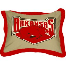 NCAA  Arkansas Pillow Sham
