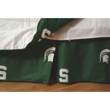 NCAA Michigan State Dust Ruffle