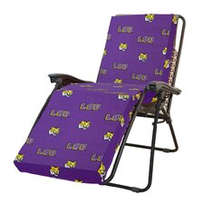NCAA LSU Tigers Outdoor Chaise Lounge Cushion
