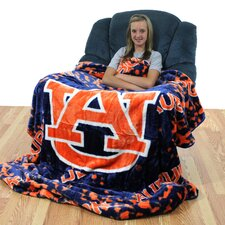 NCAA Auburn Throw Blanket