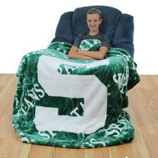 NCAA Michigan State Throw Blanket