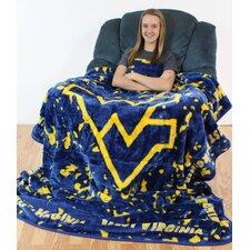NCAA West Virginia Throw Blanket