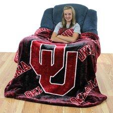 NCAA Oklahoma Throw Blanket