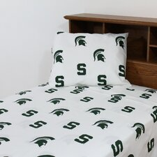 NCAA Michigan State Sheet Set