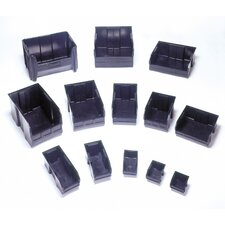 "Recycled Ultra Series Bins (4"" H x 4 1/8"" W x 10 7/8"" D) (Set of 12)"