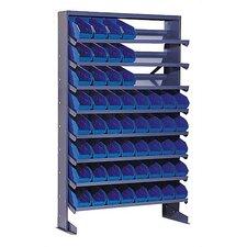 Single Sided Pick Rack Shelf Storage Unit