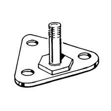 Foot Plate for Q-Stor Wire Shelving