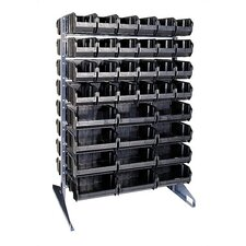 Conductive Double Sided Steel Rail Rack