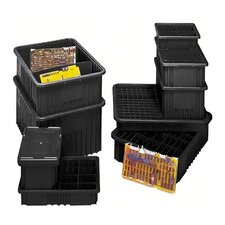 "Conductive Dividable Grid Storage Containers (12"" H x 17 1/2"" W x 22 1/2"" D) (Set of 3)"