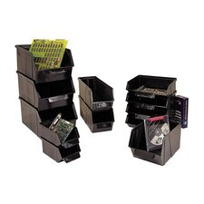 """Conductive Stack and Lock Bin (6 1/8"""" H x 8 1/8"""" W x 13 1/2"""" D) (Set of 8)"""