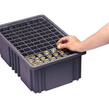 Conductive Dividable Grid Storage Container Long Dividers for DG91050CO (Set of 6)