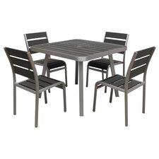Fresca 5 Piece Dining Set