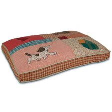 Quilted Dog Pillow
