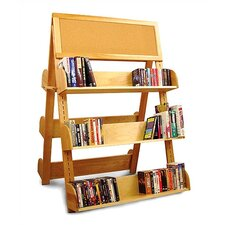 """Book Carts and Racks A Frame 60"""" Standard Bookcase"""