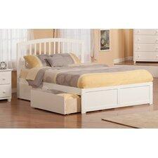 Urban Lifestyle Richmond Panel Bed with Storage