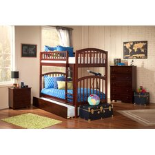 Richland Twin Over Twin Bunk Bed with Urban Trundle
