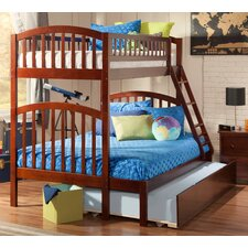Richland Twin Over Full Bunk Bed with Urban Trundle Drawers