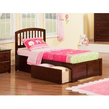 Richmond Twin XL Platform Bed with Storage