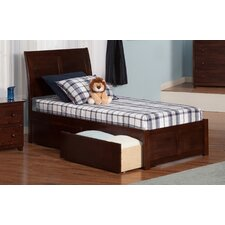 Portland Twin XL Sleigh Bed with Drawers