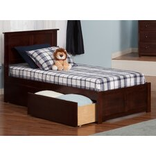 Madison Twin XL Panel Bed with Drawers