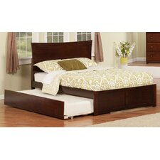 Urban Lifestyle Metro Platform Bed with Trundle
