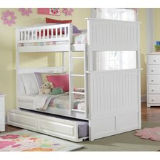 Nantucket Bunk Bed with Trundle