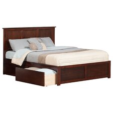 Urban Lifestyle Madison Panel Bed with Storage
