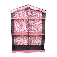 "Fashion Prints Leopard 42.5"" Bookshelf"