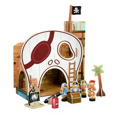 Prentend Pirate Table Top Playset