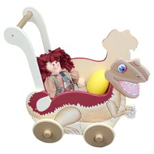 Dinosaur Kingdom Children's Push Cart