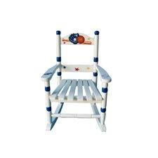 Sports Kids Rocking Chair