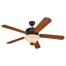 "52"" Quality Pro Deluxe 5 Blade Ceiling Fan"
