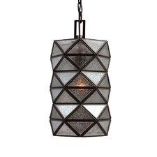 Harambee 1 Light Mini Pendant with Mercury Glass