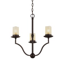 Trempealeau 3 Light Mini Chandelier