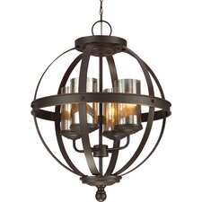 Sfera 4 Light Chandelier