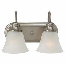 Windgate 2 Light Bath Vanity Light