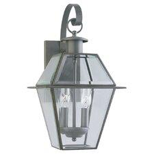 Colony 2 Light Wall Lantern