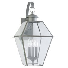 Colony 3 Light Wall Lantern