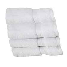 Superior Egyptian Cotton Wash Cloth (Set of 6)