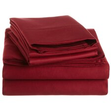 Cotton 1500 Thread Count Solid Sheet Set