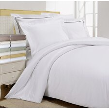 800 Thread Count Egyptian Cotton Solid Duvet Cover Set