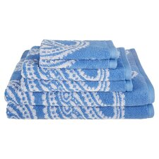 Superior Paisley 6 Piece Towel Set