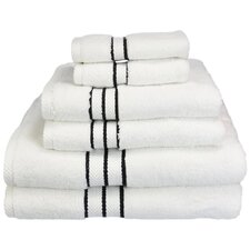 Superior Hotel Collection 6 Piece Towel Set