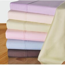 450 Thread Count Solid Pillowcase (Set of 2)