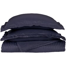 Wrinkle Resistant Heritage Stripe Duvet Cover Collection