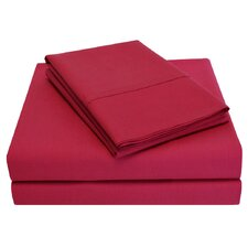 300 Thread Count Percale Cotton Sheet Set